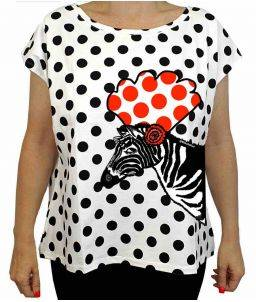 Camiseta Tra Tra Zebra