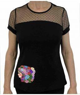 Camiseta Ópera Cabeza de Flor