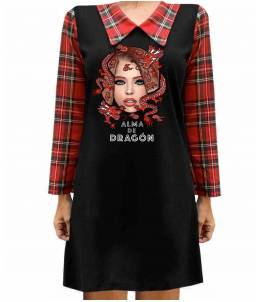 Vestido Simple Minds Dragón